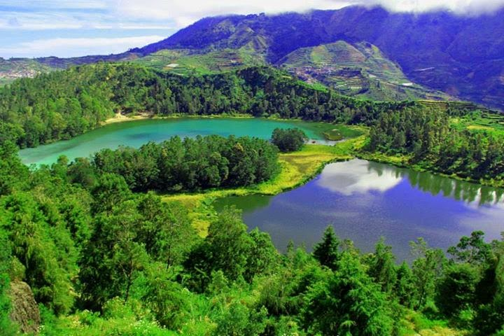Dieng Plateau Icango